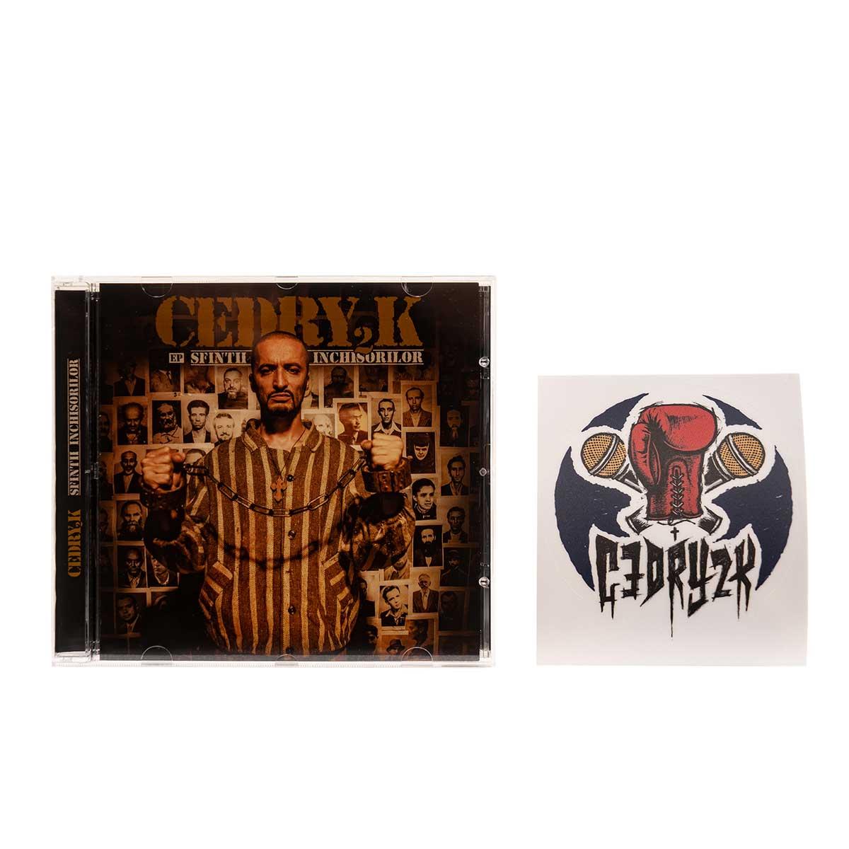 Cedry2k_SfintiiInchisorilor_CD+sticker